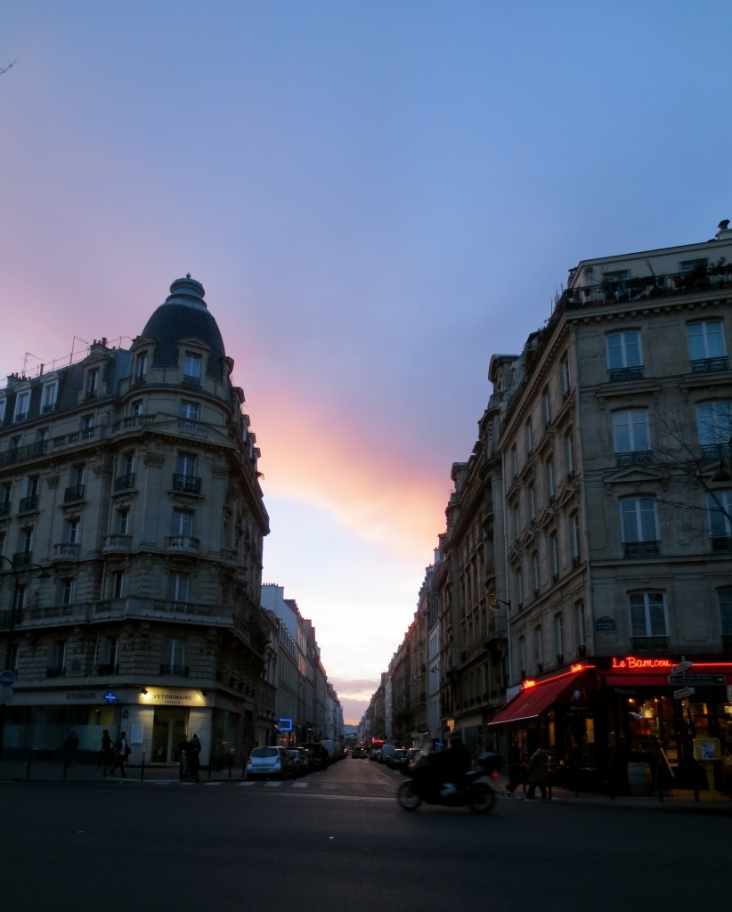 A Bastille sunset