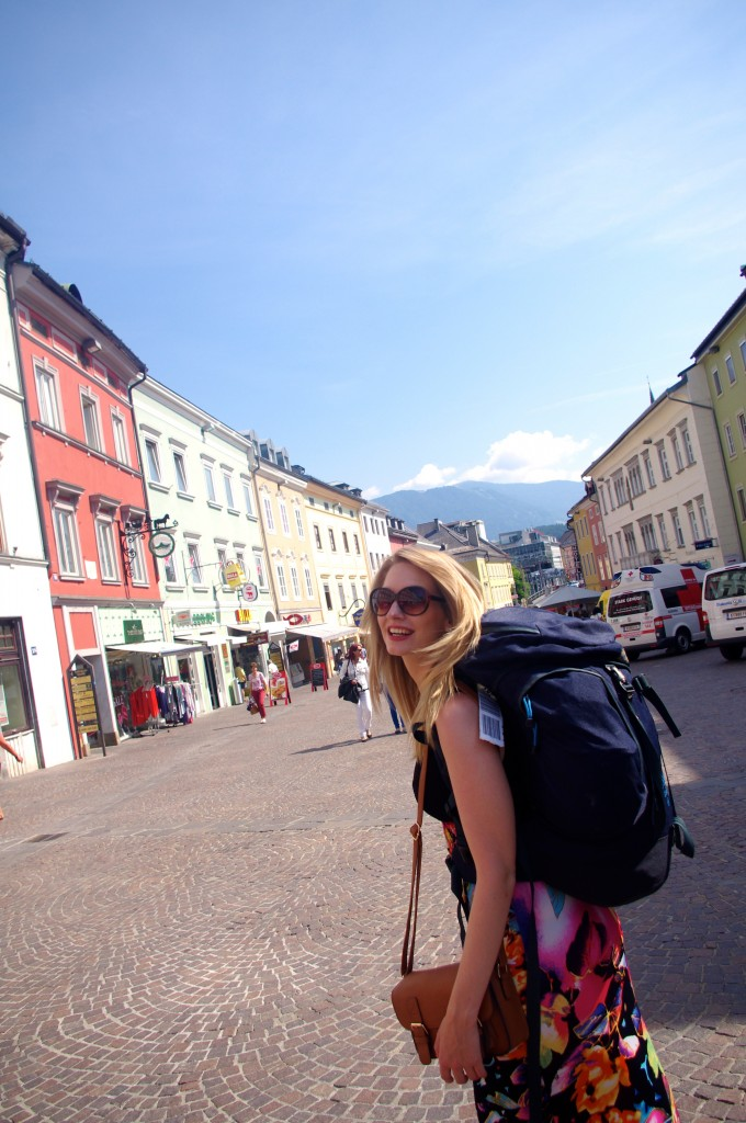 Villach- a far cry from the UK high streets